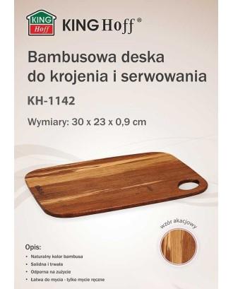 BAMBOO VIRTUVĖS LENTELĖ 30x23cm KINGHOFF KH-1142